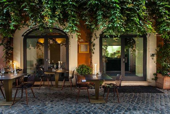 Per Me Giulio Terrinoni Rom Regola Restaurant