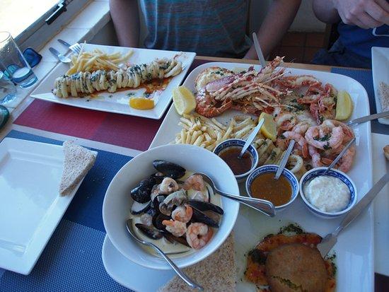 Scottburgh, Южная Африка: seafood delight