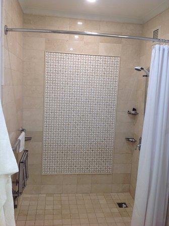 Fairmont Hotel Vancouver: Pathetic shower