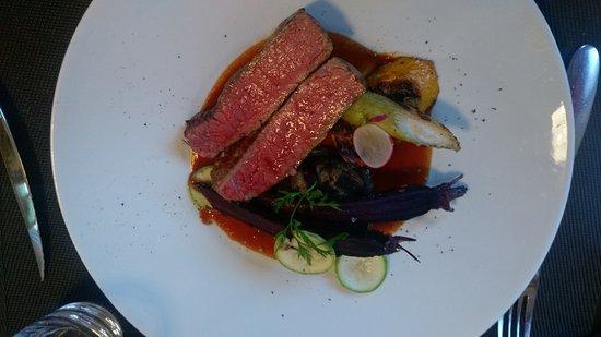 Muret, Prancis: plat viande