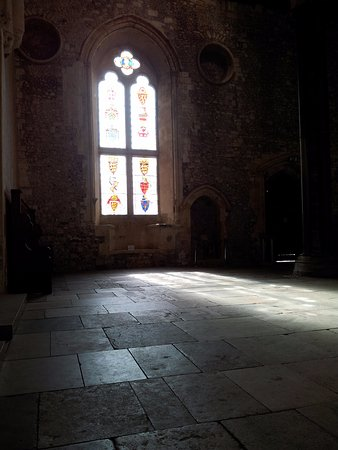 Winchester Great Hall - an ancient atmospheric building