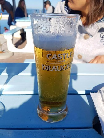 Kalk Bay, Sør-Afrika: castle beer