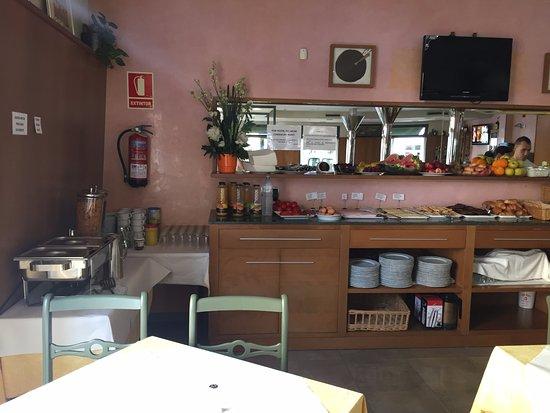 Ferreries, Spanyol: Colazione