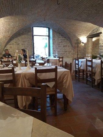 Corciano, Ιταλία: Una delle sale interne