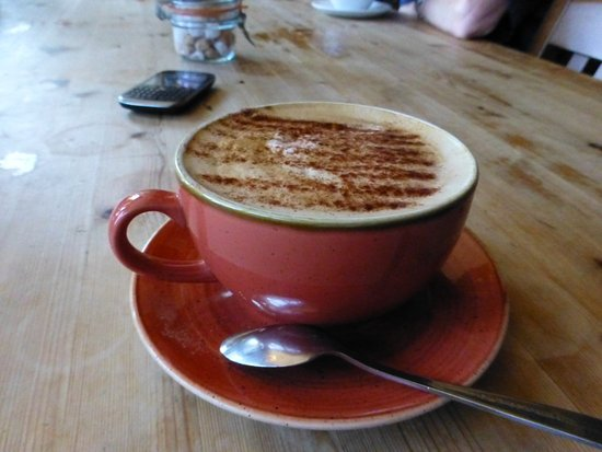 Stow-on-the-Wold, UK: coffee