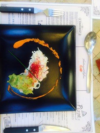 Saint-Antonin Noble Val, Fransa: El más rico menú de Jour Marino 💎👌🏻 pasen a visitarnos y degustar nuestros ricos platos