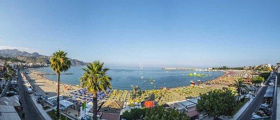 Hotel La Sirenetta: vista camera sul mare