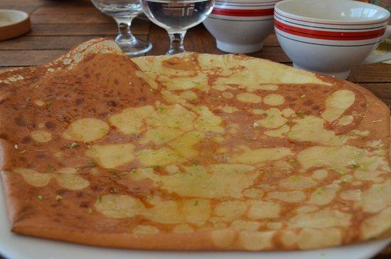 Bangor, Frankrig: miel citron vert