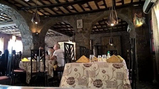 Cafe-Restaurant des Dunes : sala da pranzo
