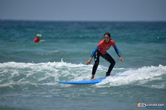 Caleta de Famara, สเปน: Calima Surf Agosto 2016