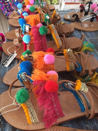 Gili Air, Endonezya: Boho sandals