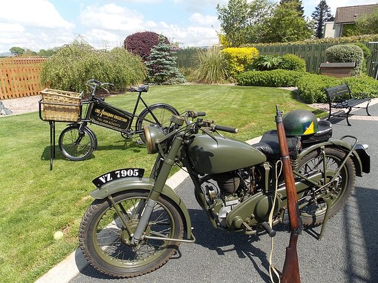 Omagh, UK: 1941 Matchless G3L 350 cc