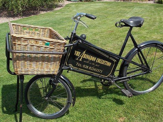 Omagh, UK: 1937 Delivery bike.