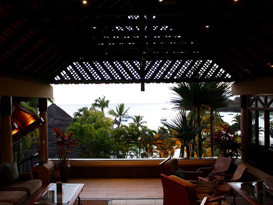 Maritim Resort & Spa Mauritius: View from hotel foyer