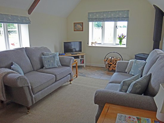 North Perrott, UK: Lounge area.