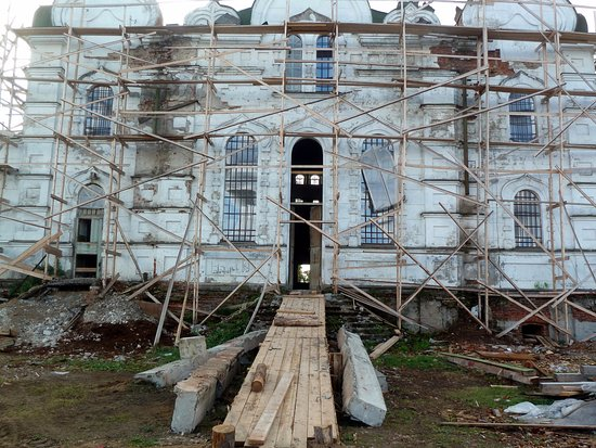 Sura, Russia: стройка