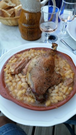 Arzens, Frankrike: Super cassoulet merci christian
