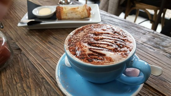 Clyde, New Zealand: Hot chocolate