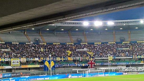 Stadio Marcantonio Bentegodi: Hellas Verona Crotone dalle poltronissime est.