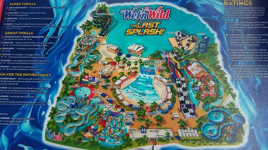 map of wet n wild orlando Orlando 2016 Picture Of Wet N Wild Orlando Tripadvisor map of wet n wild orlando