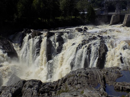 Grand Falls, Canadá: Top of the falls