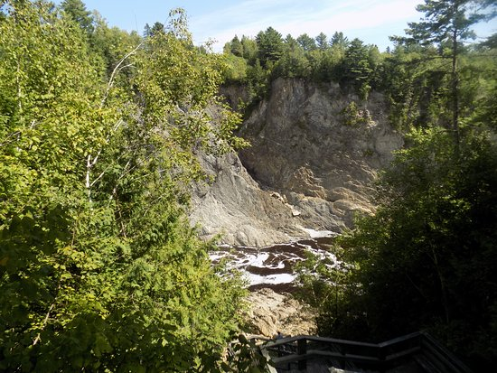 Grand Falls, Canadá: From one of the lookout points