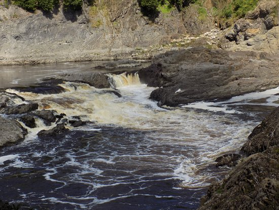 Grand Falls, Canada : Worth the trip to the bottom