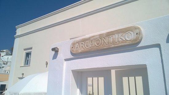 Archontiko Santorini Foto
