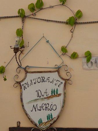 Buonconvento, İtalya: Restaurant außen