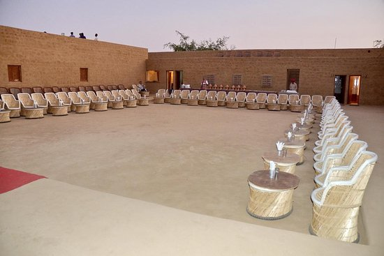 Rajasthan Desert Safari Camp Pvt. Ltd.: Dinner for groups