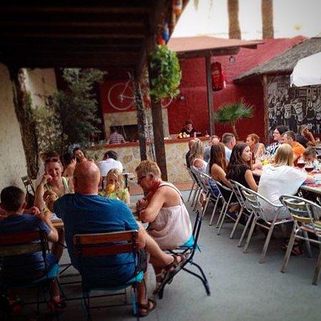 Jalón, España: Terraza