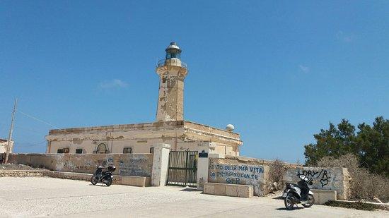 Faro di Capo Grecale