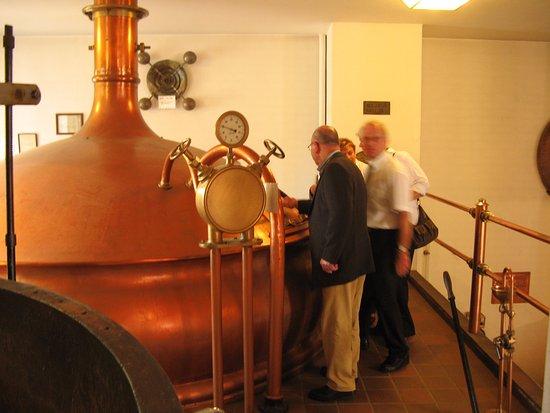 Bocholter Brouwerijmuseum: belangstelling voor het koperwerk