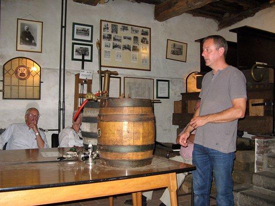 Bocholter Brouwerijmuseum: Hoe wordt een vat getapt