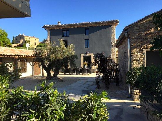 Crillon-le-Brave, France : comme à la maison !