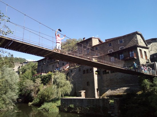 Rupit, Spain: Vista puente