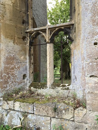 Winchcombe, UK: a window a queen looked out of once upon a time
