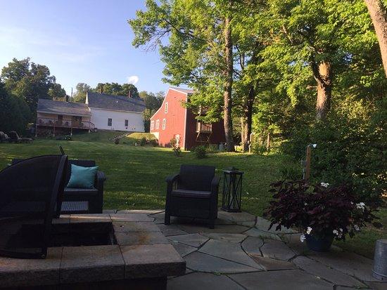 East Burke, VT: Backyard