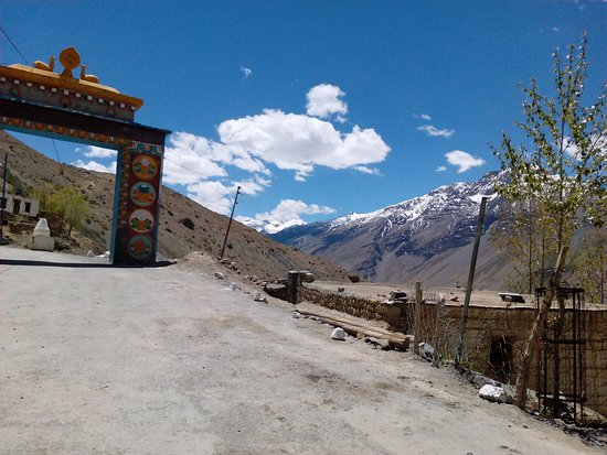 Sangla, Indien: view from the monastery