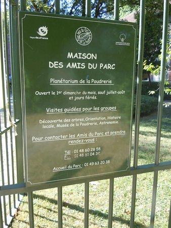 Sevran, Frankrig: La maison des Amis du Parc