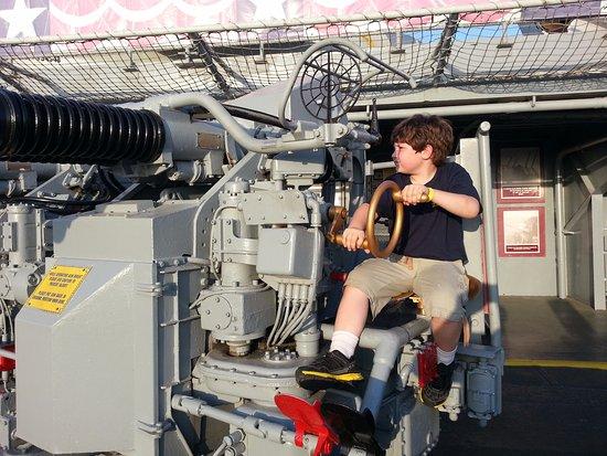 USS LEXINGTON: protecting our city