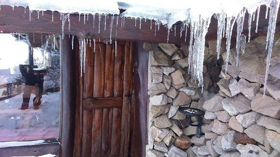 El Refugio en Arelauquen: El hielo y la nieve