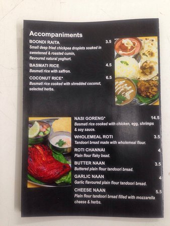 Castlemaine, Australia: Shiraaz Fine Indian Cuisine