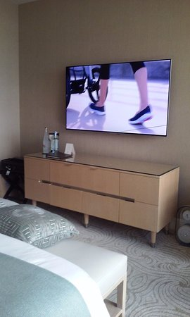 Trump International Hotel & Tower Chicago: I think 65 inch TV