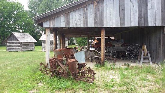 Sister Bay, WI: Farm machinery