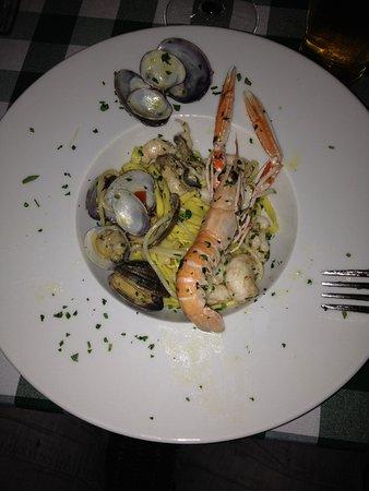 Muggia, Italia: Gorgeous seafood!