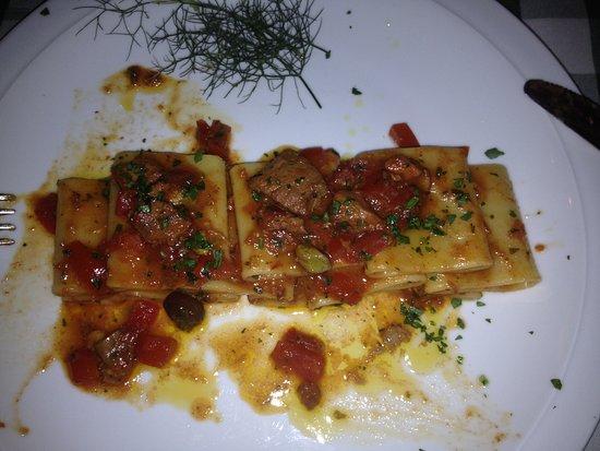 Muggia, Italia: Pasta
