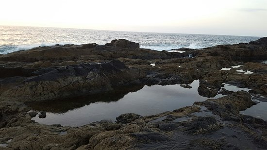 Piscinas naturales aguas verdes fuerteventura espanja for Aguas termales naturales madrid