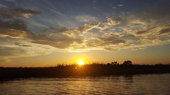 Cape Fear River: Sunset