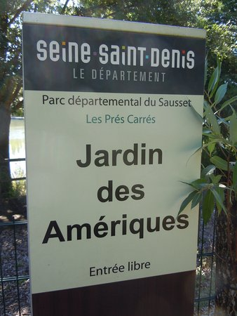 Ольне-су-Буа, Франция: Le jardin des Amériques